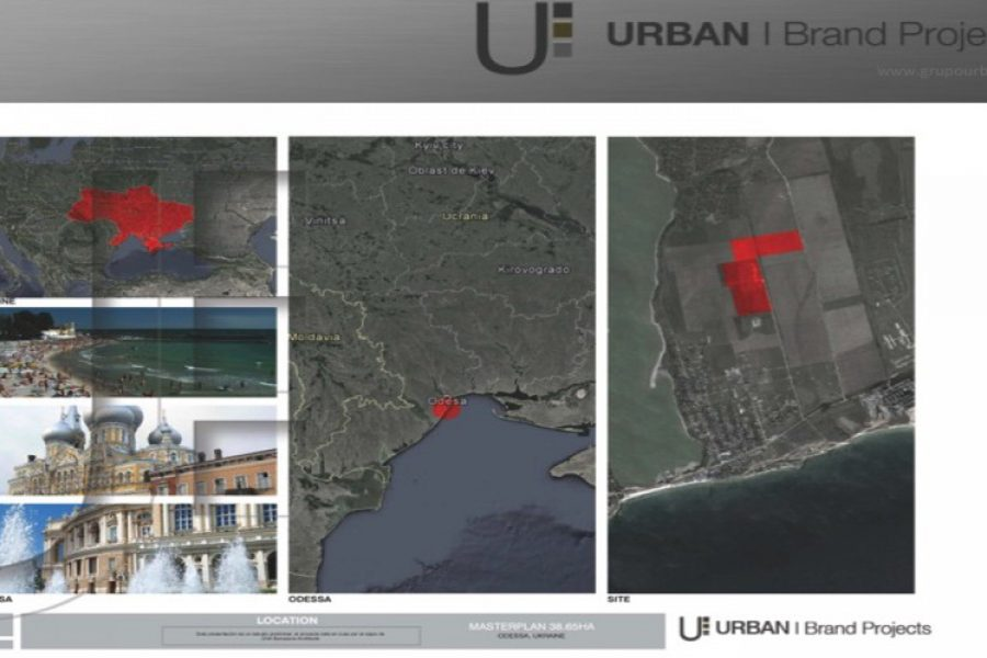 RESIDENTIAL COMPLEX MASTERPLAN I Odessa, Ucrania
