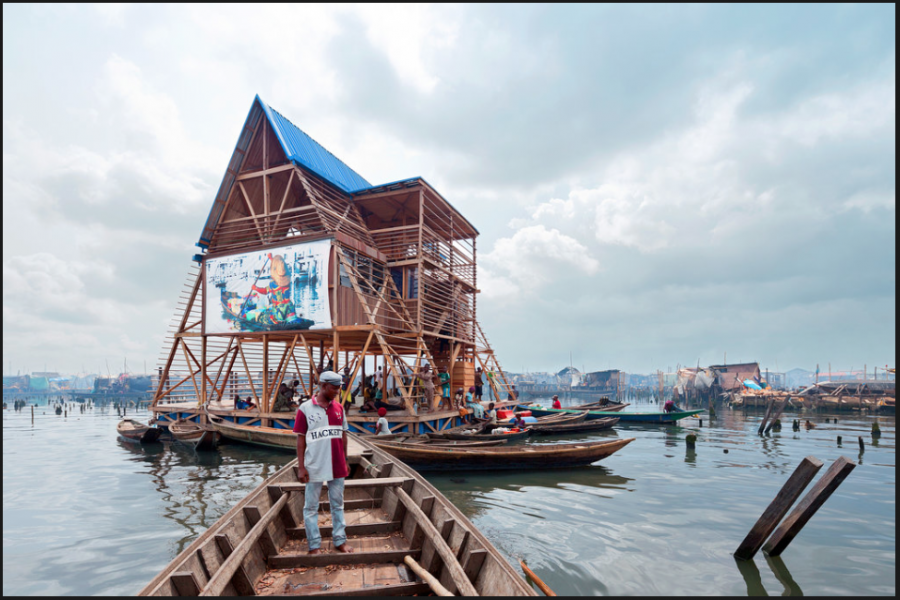 School at the sea: An architectural landscape