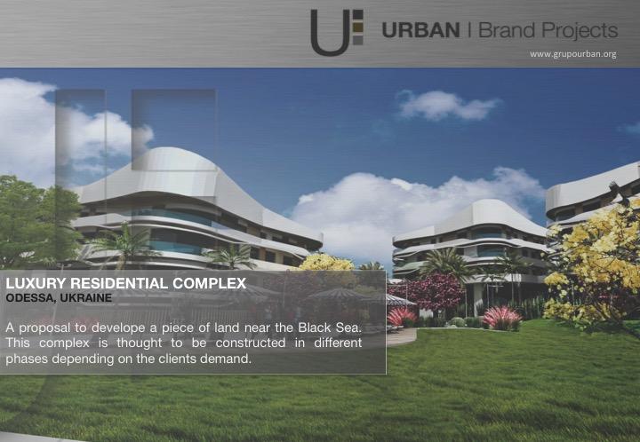 Odessa, Ucrania | Residential Complex Masterplan