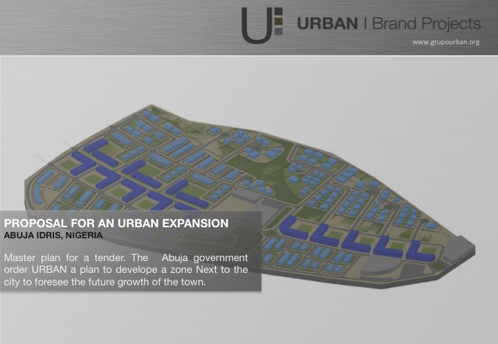 Abuja Idris, Nigeria | Urban Expansion Masterplan