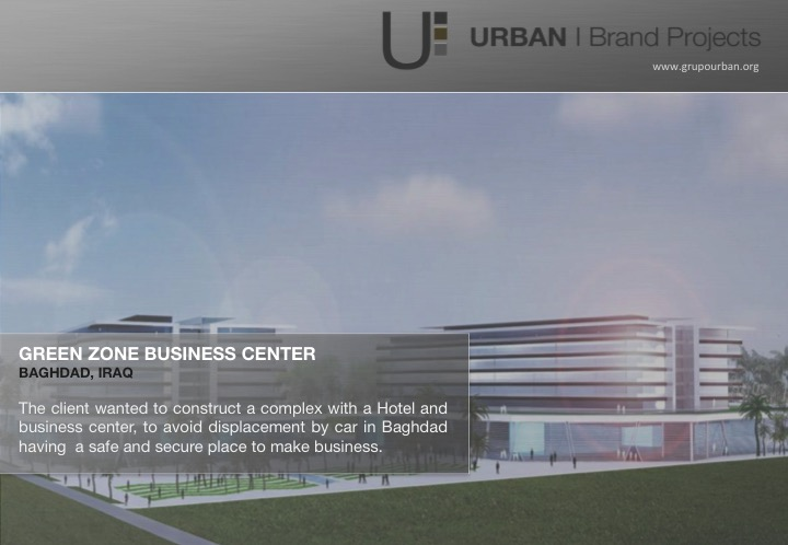 Baghdad, Iraq | Business Center Concept